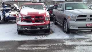 2013 Ram 1500 Outdoorsman 4x4 Crew Cab Product Review at MacIver Dodge Jeep in Newmarket, Ontario videos