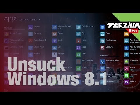 Fix Windows 8.1 Annoyances