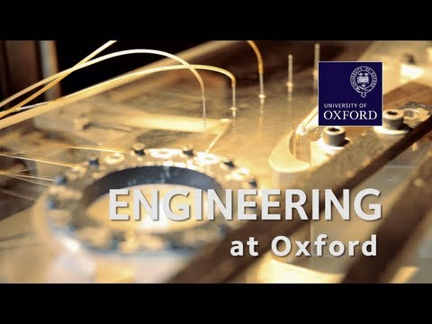 Engineering Science at Oxford University