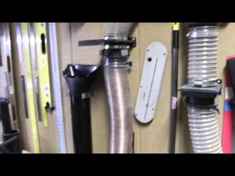 Dust Collection For The Small Shop Wmv Youtube