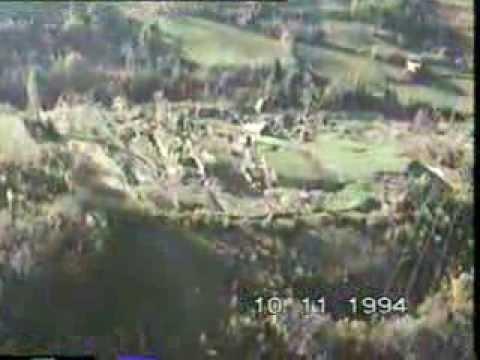 Alluvione 1994, i movimenti di versante