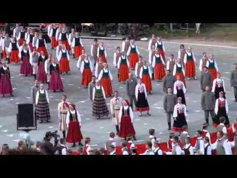 Gaudeamus  XVI. Программа Латвии. Часть 3.
