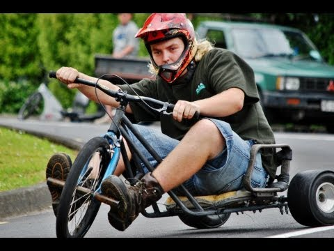 Drift Trikes Whangarei - Christmas Slide - DHM 2011