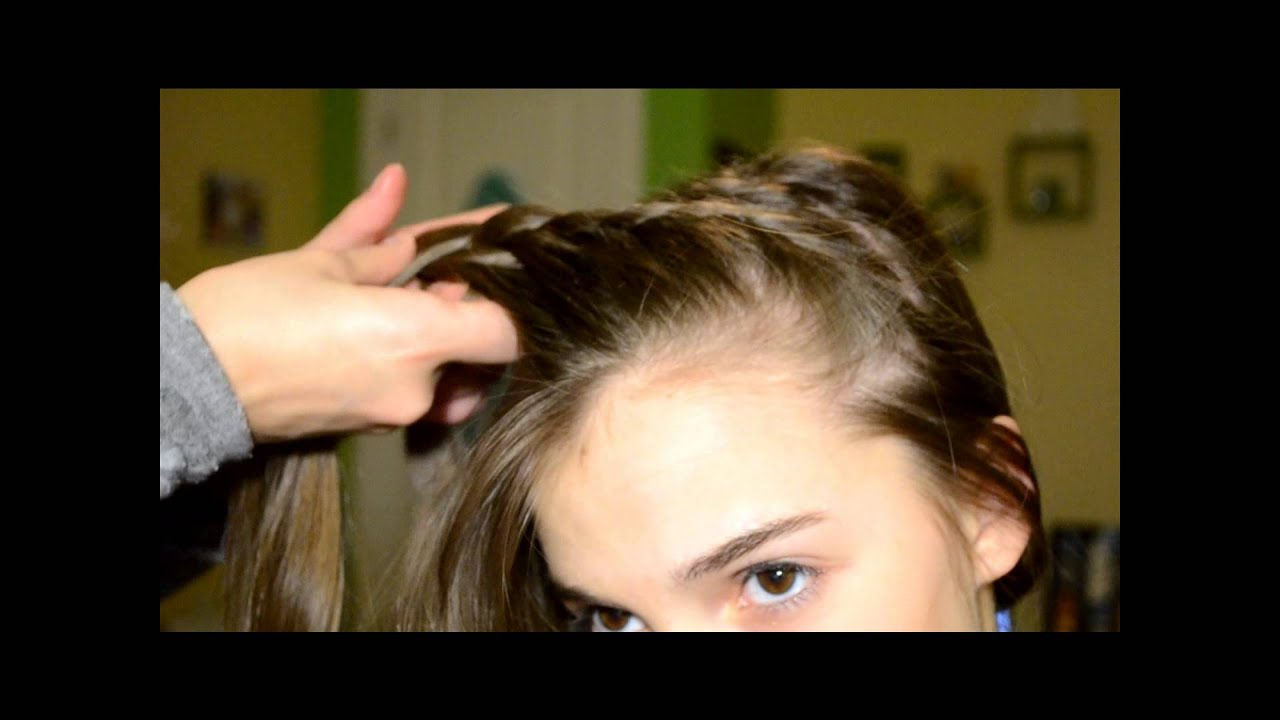 hairstyles for heart shaped face : Gymnastics Meet Hairstyle! - YouTube