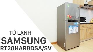Đánh giá tủ lạnh Samsung 208 lít RT20HAR8DSA/SV | Điện máy XANH