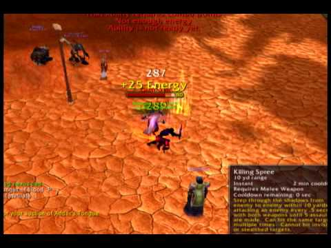WoW Saintslayer PvP Rogue Combat lvl 80 movie 1