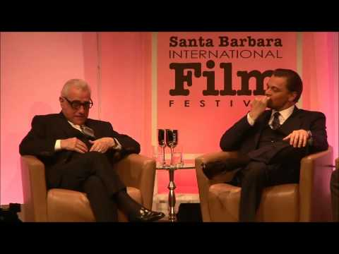 Leonardo DiCaprio and Martin Scorsese 2014 SBIFF   Cinema Vanguard