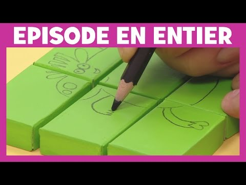 Art attack - Bêbêtes casse tête - Sur Disney Junior - VF