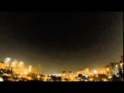 Iron Dome intercepts Gaza rockets at Rishon LeZion