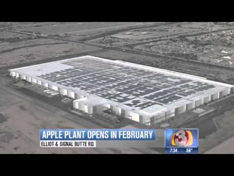 New Apple plant in Mesa brings 700 new jobs