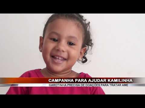 07/05/2018 - Pais da pequena Kamilinha, diagnosticada com AME – Atrofia Muscular Espinhal pedem ajuda