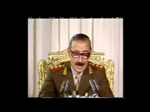 Ultimo discurso del HDMP de Videla en 1981