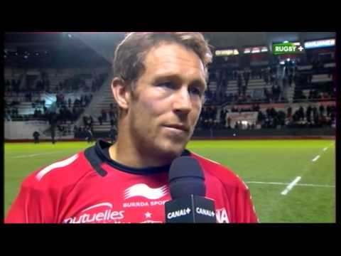 Top14 J21 2013 2014 Toulon vs Oyonnax ITW Jonny Wilkinson