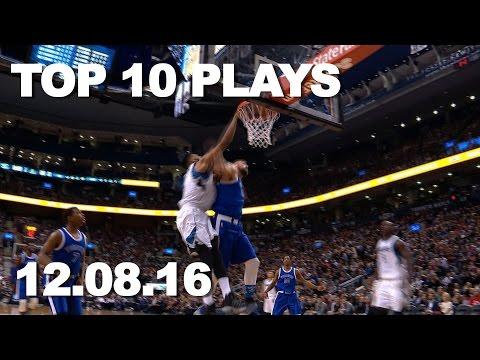 Top 10 NBA Plays 120816