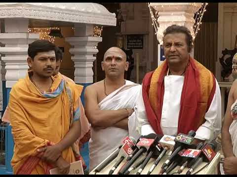 Mohan Babu Supports To Pawan Kalyan
