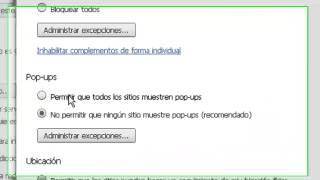 Sacar Bloqueo De Ventanas Emergentes, Google Chrome