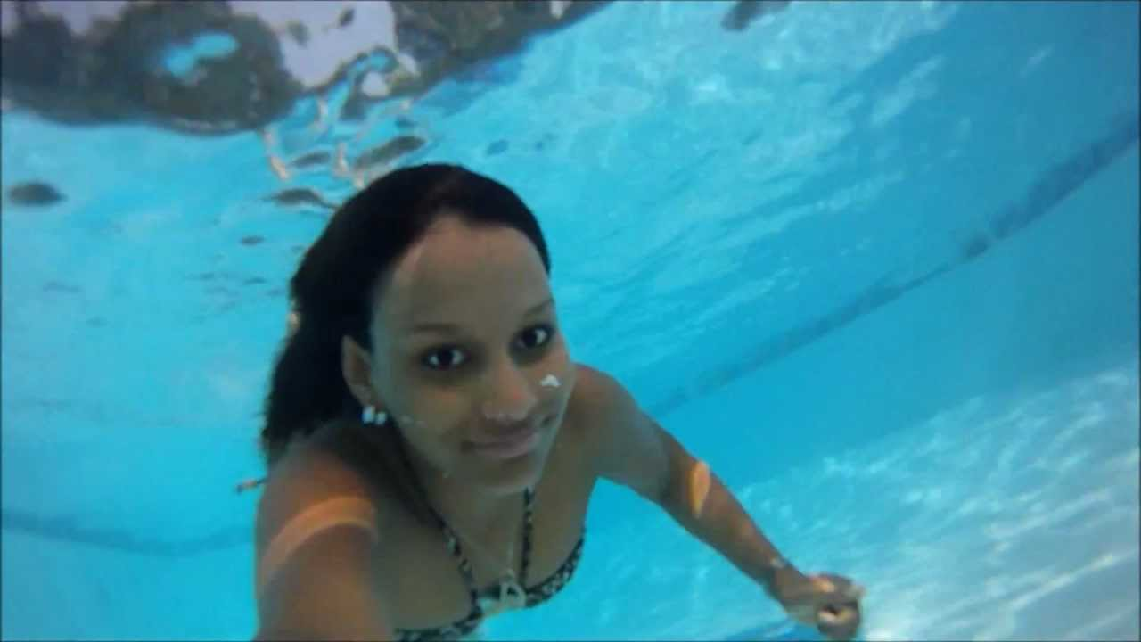 go pro hd 960 swimming pool under the water youtube