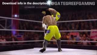 WWE 2K14 USOS ENTRANCE, SIGNATURE & FINISHER