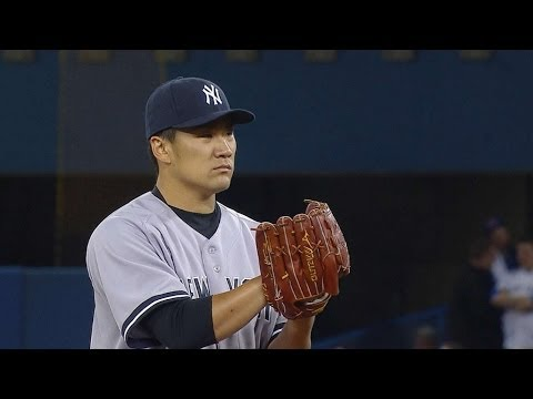 NYY@TOR: Tanaka surrenders homer to first MLB batter