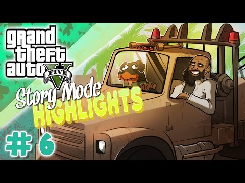 GTA 5 Story Mode Highlights #6