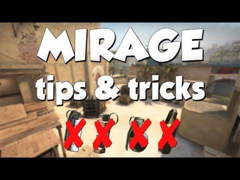 20 Mirage Tips & Tricks: No Nades (CS:GO)