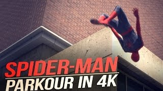 This Parkour Is As Real As Spider Man Can Get. Absolutely Amazing!