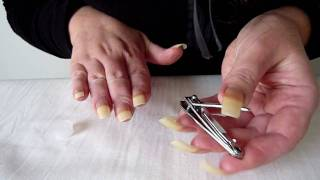 Tutorial On How To Cut, File & Shape Nails