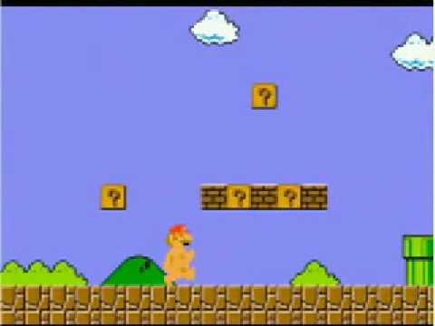 Naked Super Mario