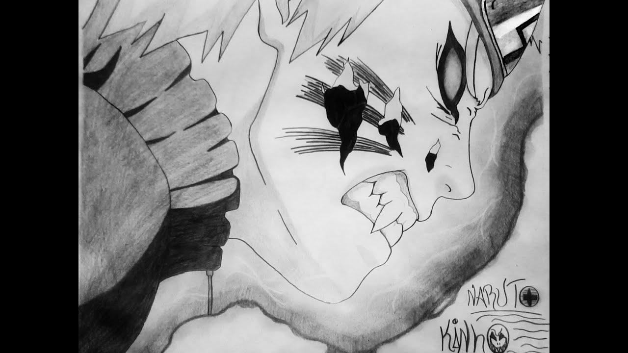 Madara Drawing In Pencil How To Draw Naruto Kyu...