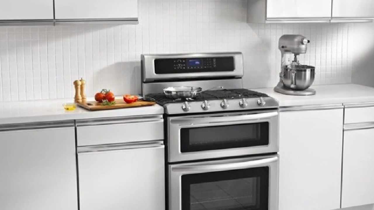 Goedeker 39 S KitchenAid KGRS505XSS 30 Gas Sealed Burner Double Oven