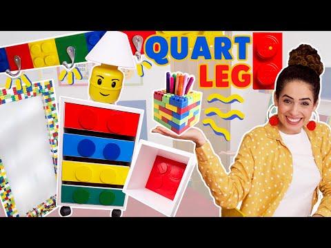 DIVERSOS PRODUTOS - DIY LEGO - DECORAÇÃO DO QUARTO