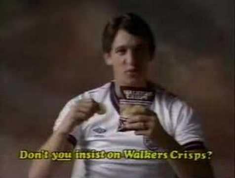 Walkers Crisps (Gary Lineker) - 1980's UK Advert