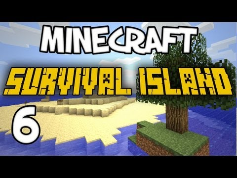 "Minecraft - ""Survival Island"" Part 6: DIRT SMUGGLING"