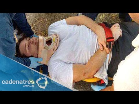 Atropella motociclista al actor Christopher Uckermann en el DF