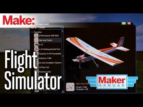 Maker Hangar Episode 13: FlightSimulator