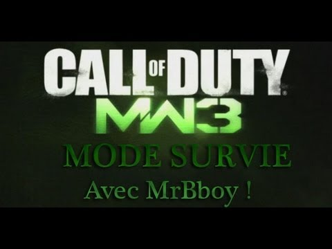 Call of duty Modern Warfare 3 : Mode survival sur Dome avec MrBboy45