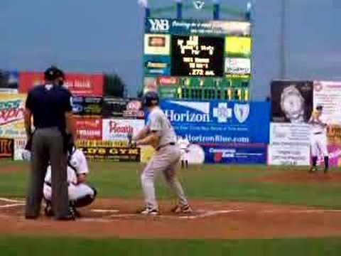 Phil Hughes vs. Brandon Moss in Double-A, 2006