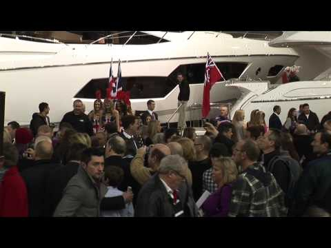 The Official Launch of the Sunseeker Stand at the London Boat Show