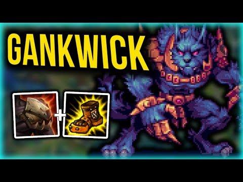 Perfect Warwick Jungle Gank Build - Warwick Jungle COMMENTARY Guide - League of Legends [Season 7]