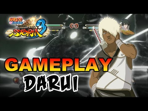 Naruto Shippuden Ultimate Ninja Storm 3 - X360 / PS3 - Darui Gameplay (Gamescom 2012)