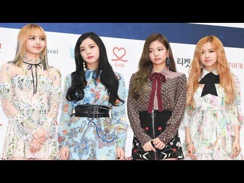 BLACKPINK(블랙핑크) Gaon Chart KPOP Awards Red Carpet (BOOMBAYAH, WHISTLE, JISOO, JENNIE, ROSE, LISA)