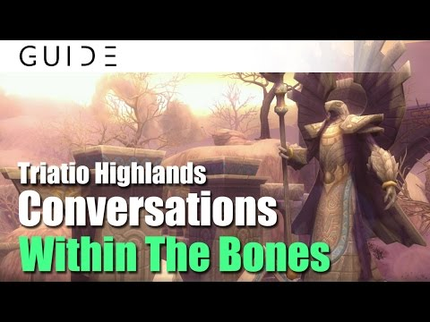 Aura Kingdom Guide - Conversations Achievements - #161 Within The Bones in Triatio Highlands [HD]