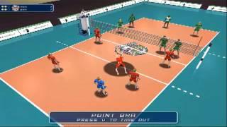 Volleyball Men's Brazil V Russian International