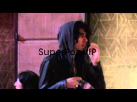 Nick Simmons at Sayers in Hollywood at Celebrity Sighting...