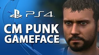 CM Punk On PlayStation 4! (EA Gameface)