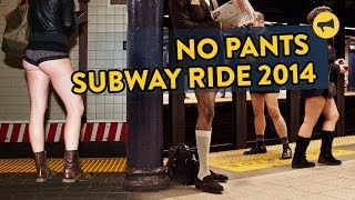 No Pants Subway Ride 2014: Improv Everywhere