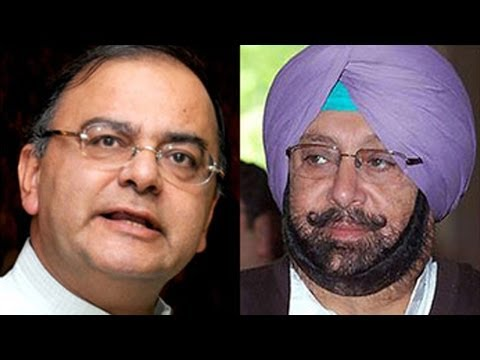 Arun Jaitley, Amarinder Singh tête-à-tête during morning walk in Amritsar