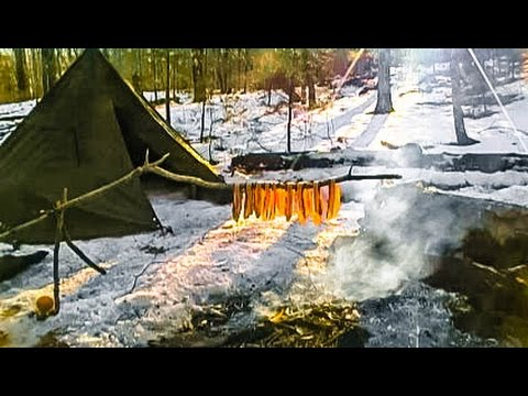 Cooking Meat for a Survival Situation #10 (Primitive Arch)