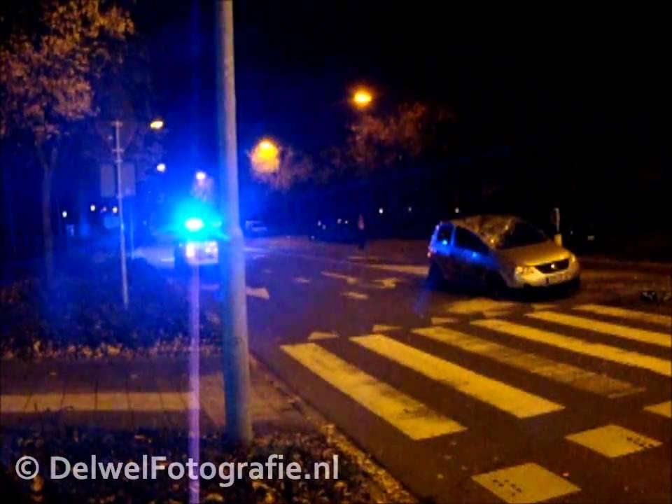 30/10/10 Ongeval met beknelling Stationslaan Harderwijk - YouTube