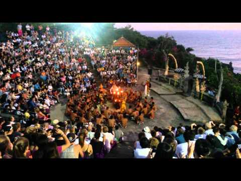 Kecak Dance at Sunset in Uluwatu